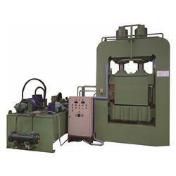 Coir Dust Briquetting Press