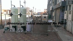 Fully Skid Mounted RO Plant