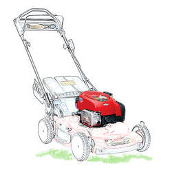 Lawn Mower Vertical Engine