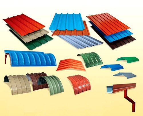 Metallic Roofing System Color Coated Roofing Sheets Service Provider From Chennai