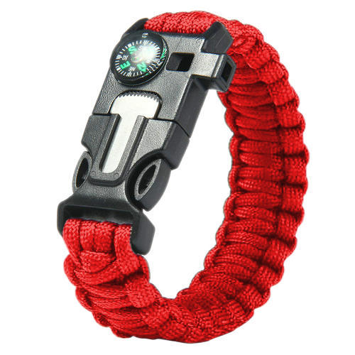 ParaCord Wristband Outdoor Camping Survival Strap Bracelet Digital Green