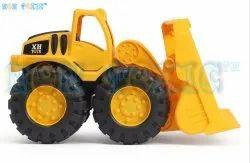 Non Toxic Unbreakable JCB Bulldozer Construction Toy