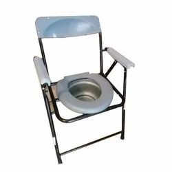 Mild Steel Commode Chair