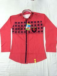 Men Cotton Full Sleeves Shirt, Size: Small