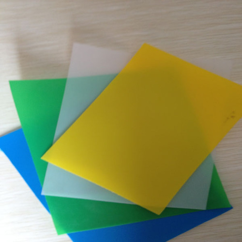 Colored Plastic Sheet at Rs 230 /piece | रंगीन ...