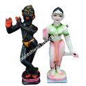 3 Feet Marble Iskcon Radha Krishna Statue