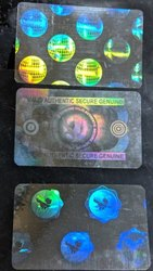 Holographic Overlay for Identity Cards