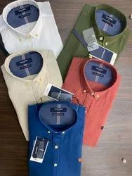 Full Sleeves Irish Linen Original Jack And Jones Shirts