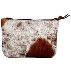 A One Modern Ladies Designer Hair On Leather Bag, for Party Wear