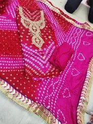 Bandhani Gota Patti Suit