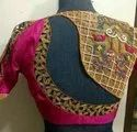 Pink Embroidery Blouse