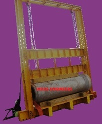 3 Edge Load Bearing Testing Machine For Concrete Pipes