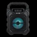 Black Enter-go 10 W Wireless Bluetooth Speaker Sound Machine