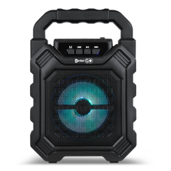 Black Enter-Go 10 W Wireless Bluetooth Speaker Sound Machine