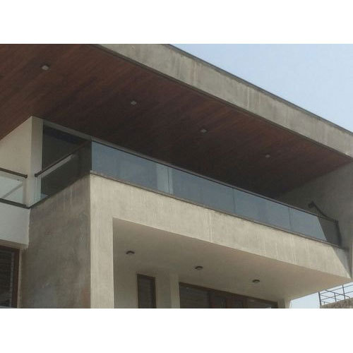 Aluminum Tempered Glass Railing
