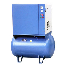 15 HP Rotary Screw Air Compressor, Discharge Pressure: 10 Bar
