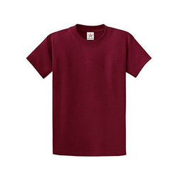 Pahun Red Plain T Shirt