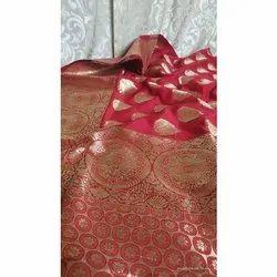 Sub Party Wear Banarasi Semi Katan Silk Saree,Wash Care: Dry Clean, Length: 6 m (With Blouse Piece)