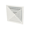 Multi Cone 4 way Ceiling Square Diffuser