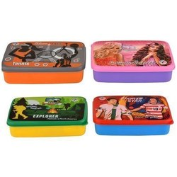 Plastic Sandwich Lunch Box, Capacity: 500 Ml, Shape: Rectangular