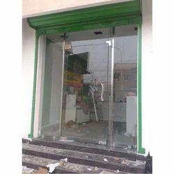 Glass Shop Door