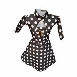 Satin Kids Designer Dress