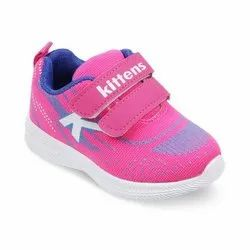Kids Fuchsia Sports Shoes