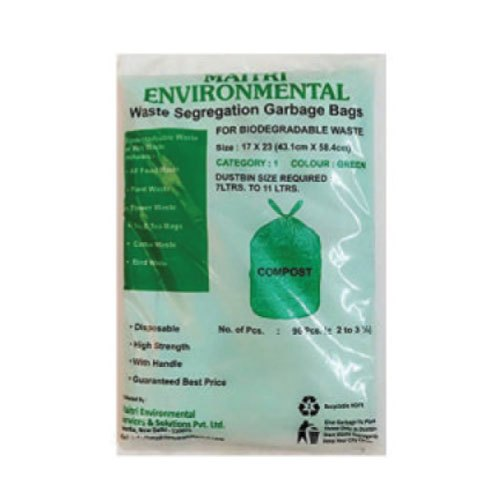 Maitri Plastic Compost Garbage Bags Rs