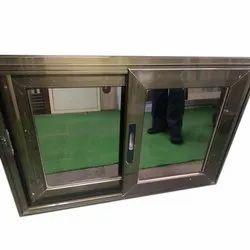 Powder Coated Aluminium Sliding Window, For Residential