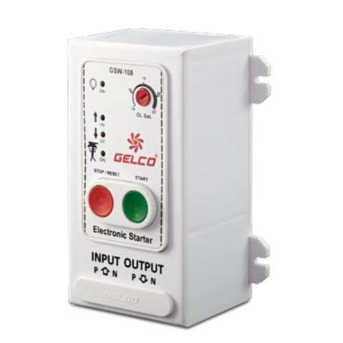 Gelco Single Phase Submersible Motor Starter, Coil Voltage: 230 V