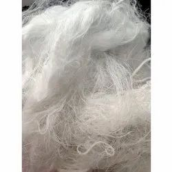 White Raw Polyester Yarn Waste, For Textile Industry