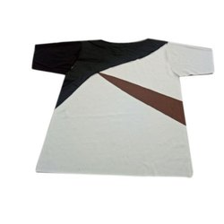 Half Sleeve Mens Round Neck Cotton T Shirt, Size: S-XXL