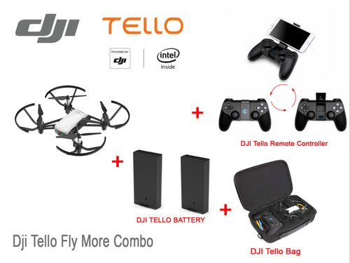 Dji Tello Drone Camera Remote Combo