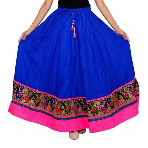 5bebd94cc Ladies Cotton Long Designer Skirts, Rs 350 /piece, Bhatia Enterprise ...