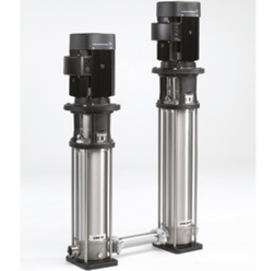 Silver&black CR, CRI, CRN Industrial Water Pumps