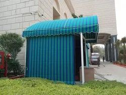 Red PVC Tent House Tensile