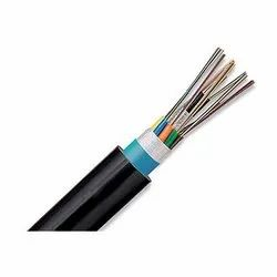 Electroline Armoured 6 Core Fiber Cable, Size: 4.5 Mm