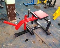 Seated Calf Raise Hammer Plate Loaded