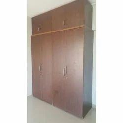 Modular Wooden Wardrobe, For Home
