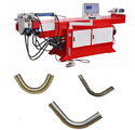 Single Head Hydraulic Pipe Bending Machine With Touch Screen