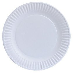 White Disposable Plate