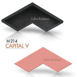 M214 Capital V Rubber Mould