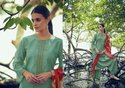 Designer Georgette Embroidery Palazzo Suit