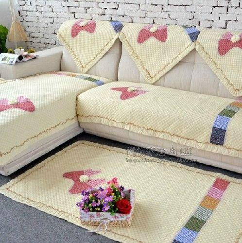 Designer Sofa Cover प र ट ड स फ कवर