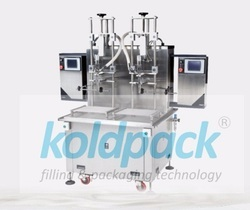 Semi Automatic SS Liquid Filling Machine