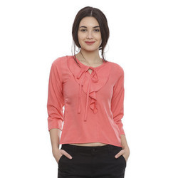 Ladies Rayon Casual Top