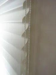 Slat White SLR029 PVC Triple Shade Blinds, For Home Hotel, 2 - 5 Feet