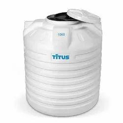 Plastic Single Layer Titus Water Tanks