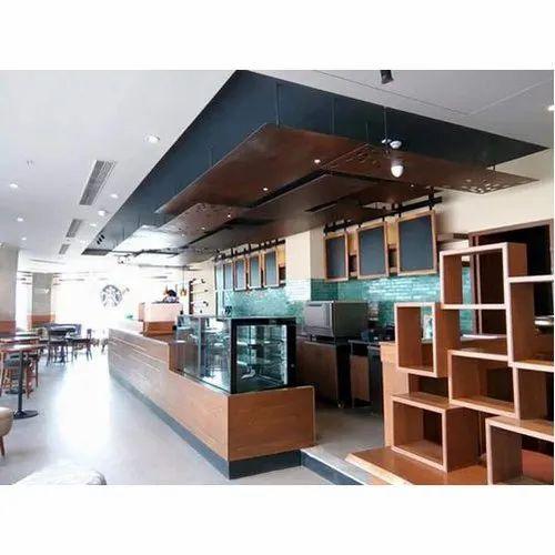 Cafeteria Interior Designing & Decorative Service