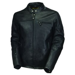 Pure Leather Full Sleeve Men Leather Jacket